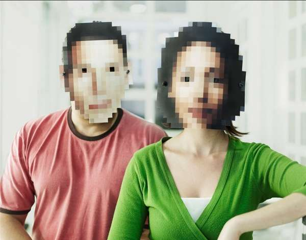 Pixelated Masks
