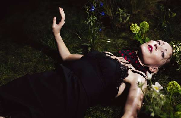 Whimsical Celebrity Editorials