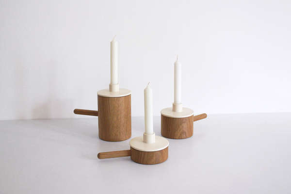 Another Ceramic Candlestick