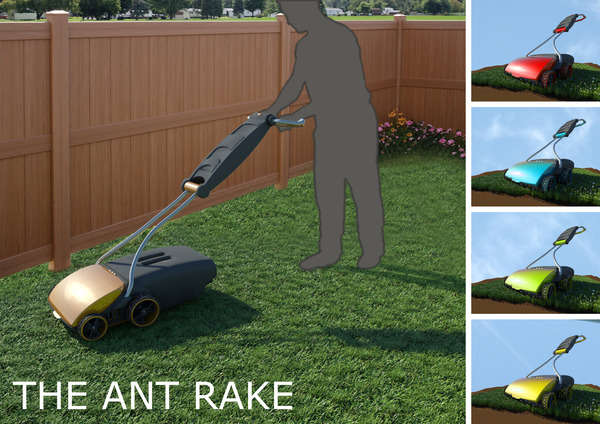 Ant Rake Lawnmower