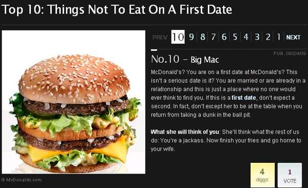 Anti-Romantic Dinner Tips