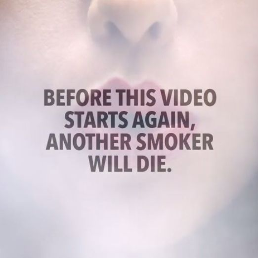 Poignant Anti-Smoking Videos