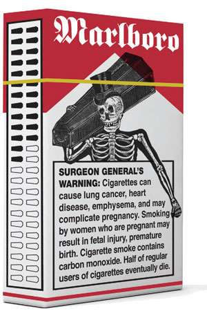 Sinister Cigarette Packaging