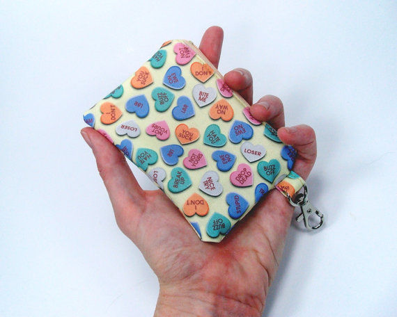 Anti Valentine Zipper Pouch