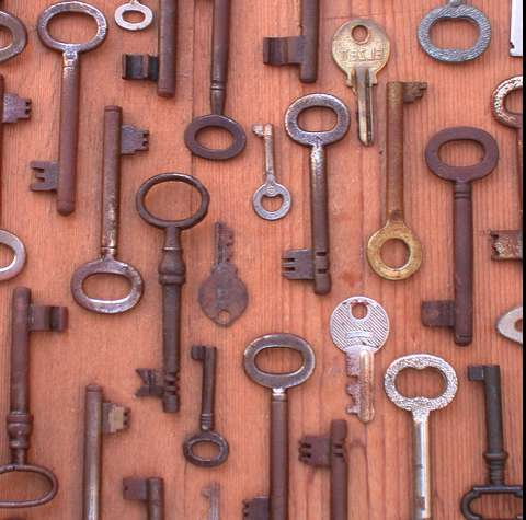 Antique Key Decor
