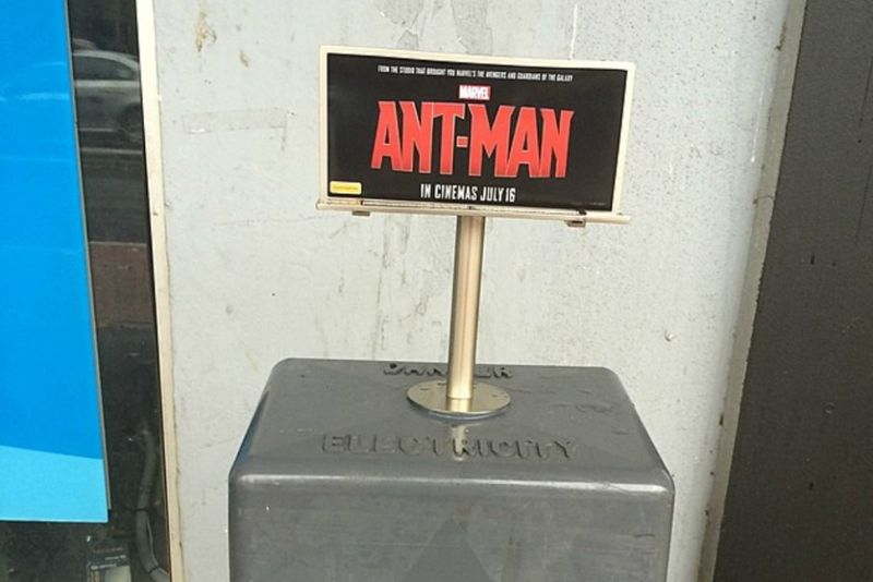 Miniature Movie Billboards