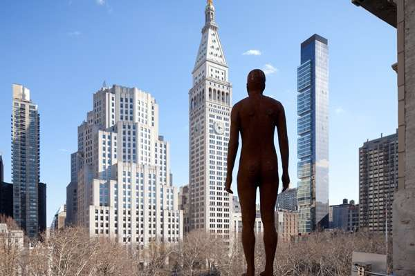 Naked Pedestrian Statues