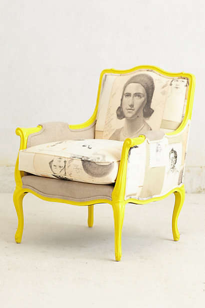 Modernized Vintage Furnishings