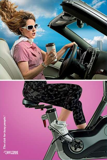 Multi-Tasking Workout Ads