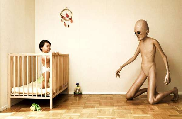 Unnerving Alien Art