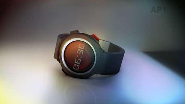 Push-Button Watch Concepts