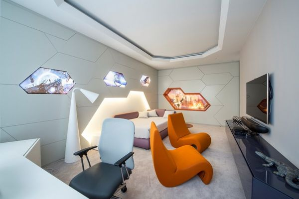 Opulent Futuristic Accommodations