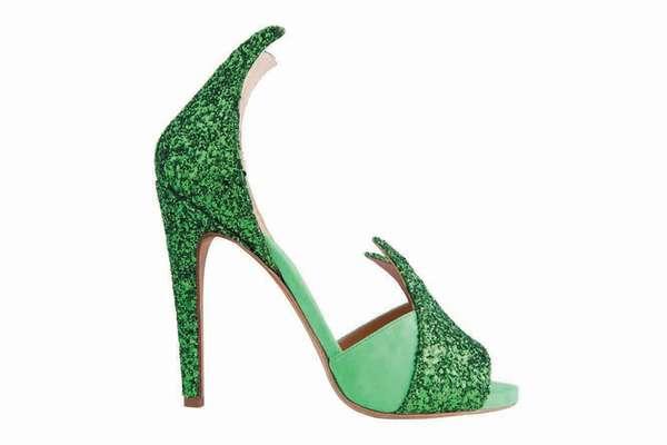 Iconic Art-Imitating Footwear