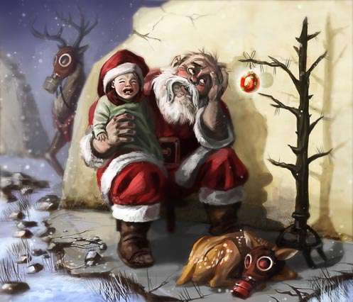 Apocalyptic Christmas Cards