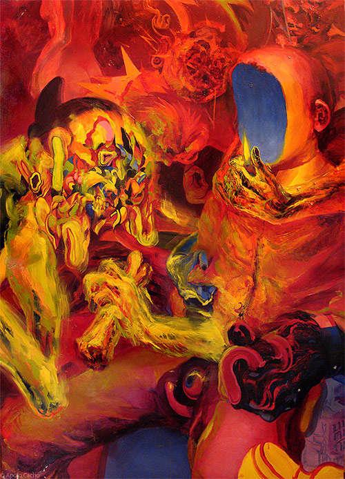 Apocalyptic Surrealist Illustrations