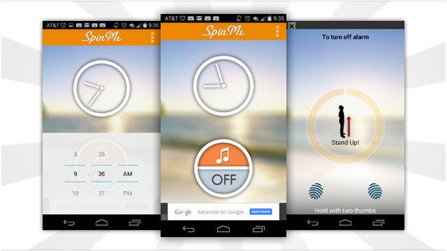 Spinning Alarm Apps