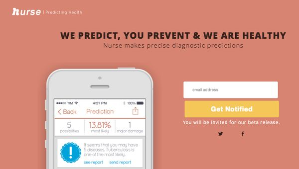 Predictive Health Apps