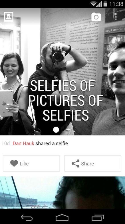 Dedicated Selfie Apps
