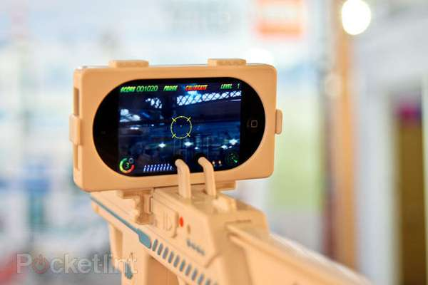 Augmented Reality iPhone Weapons