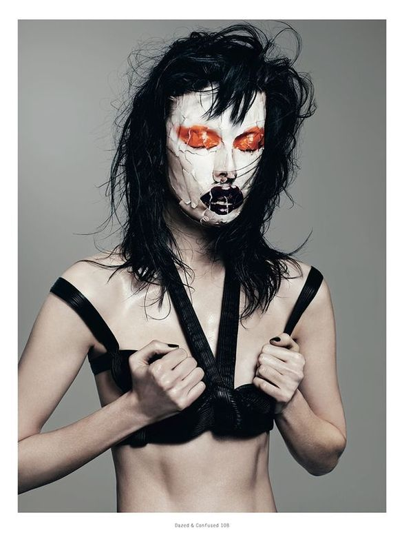 Joker-Like Makeup Editorials
