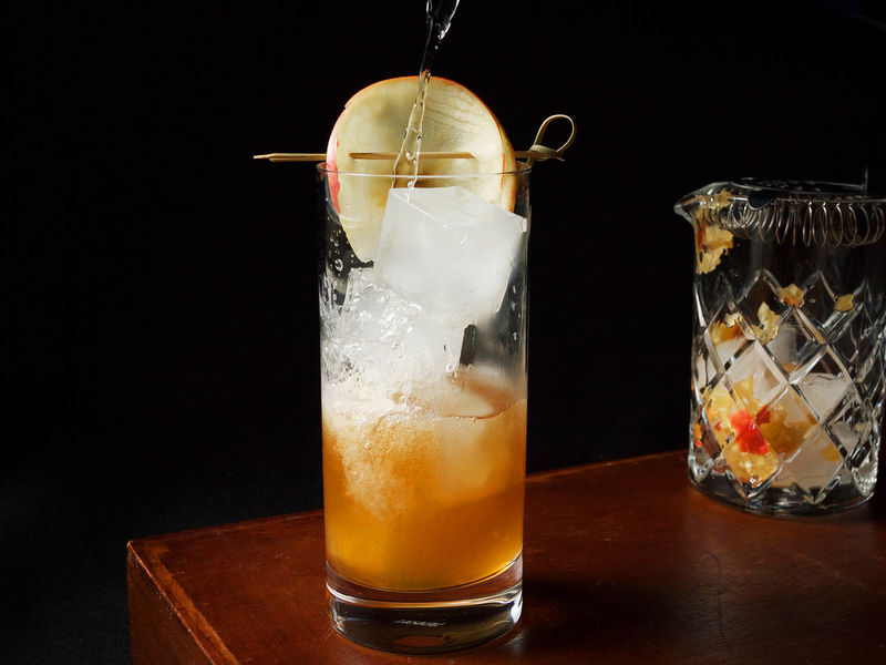 Autumnal Apple Cocktails
