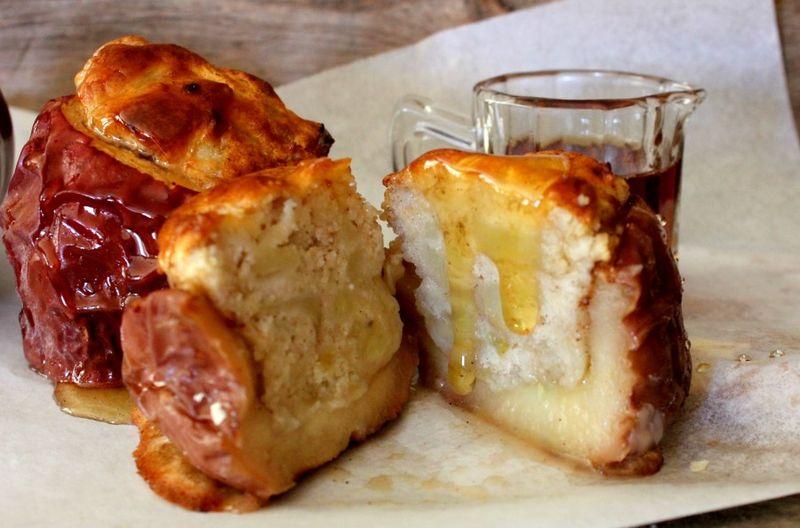 Stuffed Pancake Apple Desserts