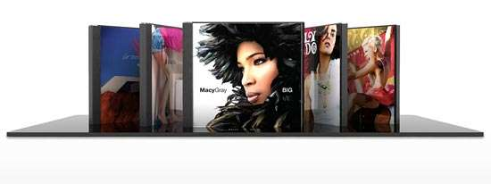 Apple-Inspired Music Storage