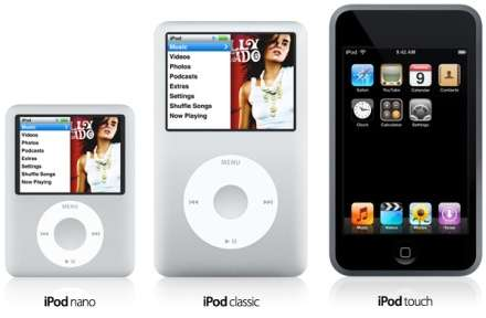 Apple Launches 3 New iPods