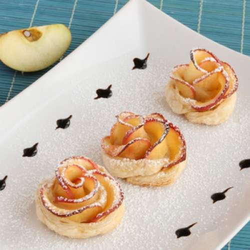 Blossoming Fruit Desserts