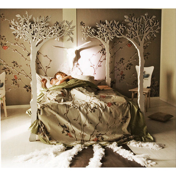 Whimsical Woodland Beds : Apple Tree