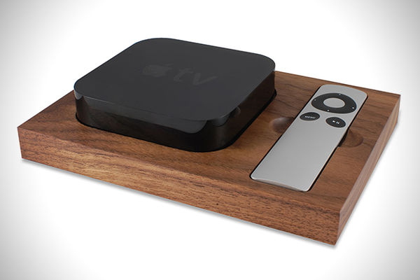 Apple TV Organizer by Tinsel and Timber