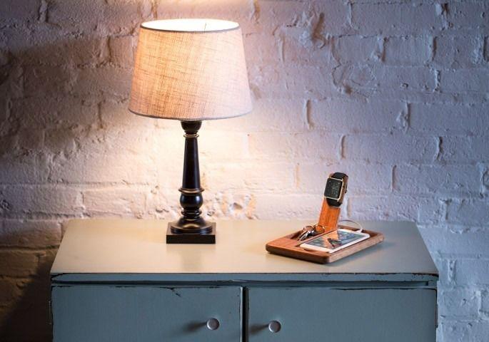 Wooden Smart Watch Stands