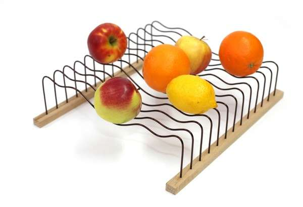 Flexible Wireframe Fruit Bowls