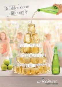 Alcohol-Free Bubbly Ads