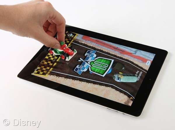 Tablet-Based Toy Cars