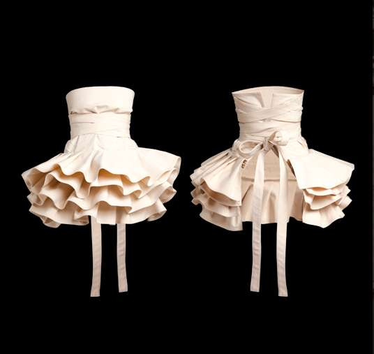 Sculpted Ballerina Aprons