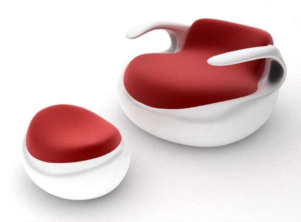 Aqua Lounge Chair