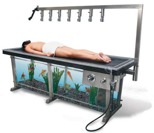 Aquarium Massages