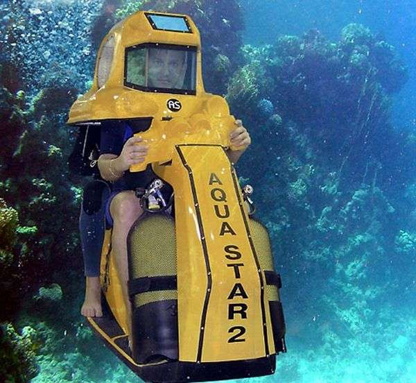 Submersible Eco-Scooters