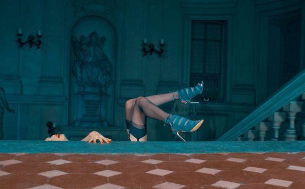 Glamorously Seductive Shoe Ads