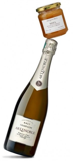 Honey-Infused Champagnes