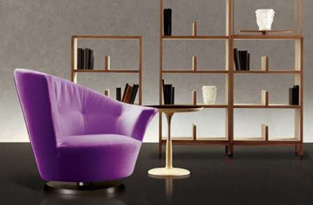 arabella swivel chair by gioretti