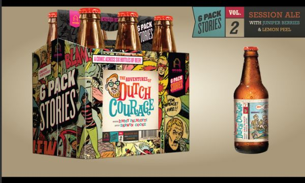 Comic Strip Beer Branding