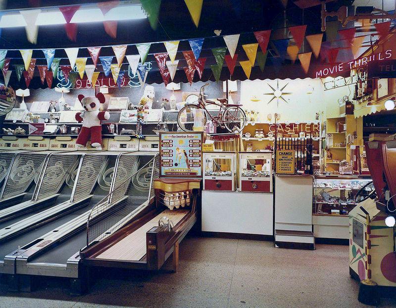 60s Arcade Photography