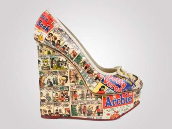 Comic Book Wedges