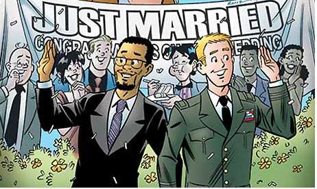 Archie comic just married
