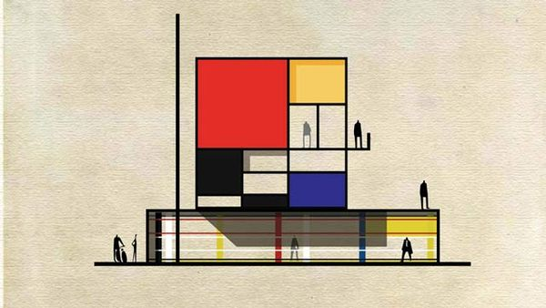 Artisan-Inspired Architectural Sketches