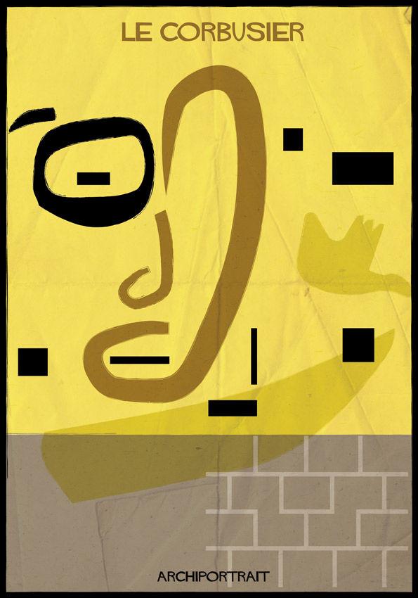 Architectural Portrait Posters