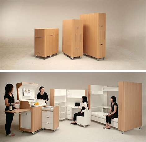 Collapsible Rooms