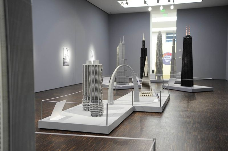 Architectural LEGO Exhibits